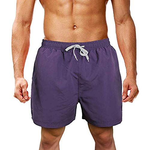FRAUIT zwembroek voor heren, strand, zwemshorts, vrijetijdsshorts, Luca/korte broek/joggingbroek/sweatpants van 100% katoen, slim fit, broek, jeans, sport, joggen, short fitness, korte trainingsbroek