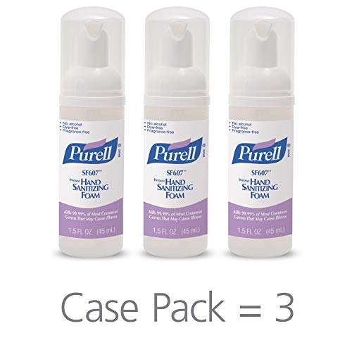 PURELL SF607 Hand Sanitizer Foam, Alcohol...