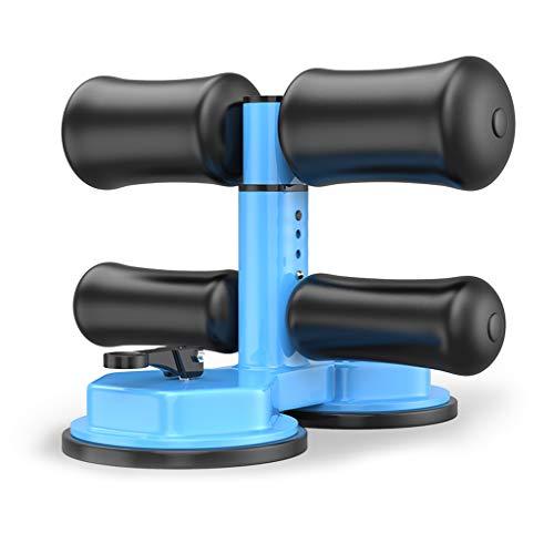 Barra Para Sentarse, Equipo Auxiliar Para Pies Fijos Autocebado Con 2 Ventosas Máx 180 Kg Equipo de Fitness Abdominal Hogar Dormitorio Oficina Estudio de Yoga