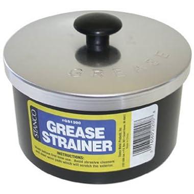 Stanco GS1200 Non-Stick Grease Strainer, Black