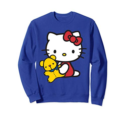 Hello Kitty With Cute Teddy Bear Sweatshirt