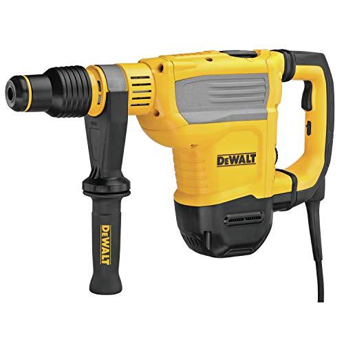 DeWalt D25614K-QS D25614K-QS-Martillo Combinado 6kg 1350W-45mm 10,5J-SDS-MAX Electrónico AVC, Amarillo