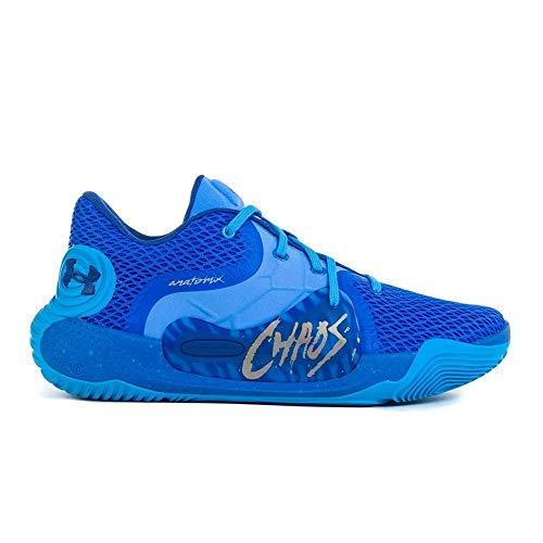 Under Armour Herren 3022626-403_49,5 Basketball Shoes, Blue, 49.5 EU