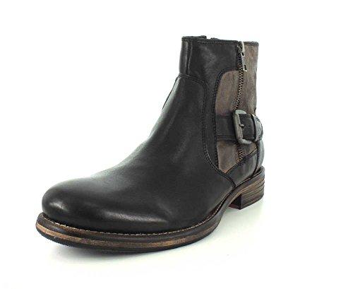 Testosterone Full Boat Boots (42 D EU/9 D US Men, Black)