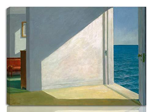 Edward Hopper Étiré Giclée Impression sur Toile-De...