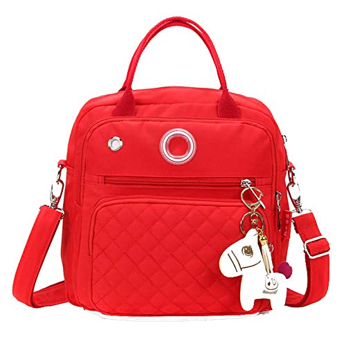 Mode schoudertas, waterdichte nylon handtas, luiertas, crossbody tas, multifunctionele babytas