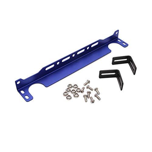 AIHOUSE Soportes De Montaje del Enfriador De Aceite del Motor Universal T6061 Kit para El Soporte Británico del Enfriador De Aceite del Aceite,Azul,34cm