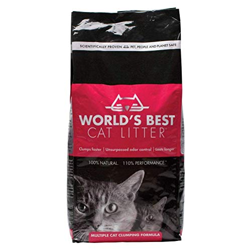 World's Best Cat Litter, klumpend, biologisch abbaubar, extra stark 12,7kg