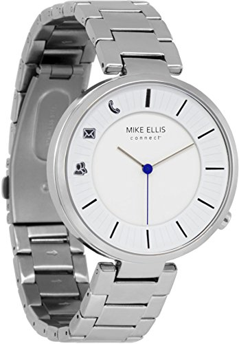 Mike Ellis Connect M4846A MEC Uhr Sabatino Edelstahl, Glieder Silber