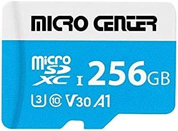 Micro Center Premium 256GB U3 V30 A1 microSDXC Memory Card