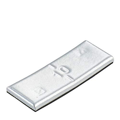 100x Poids d'équilibrage autocollants pour jante en aluminium 10g Hofmann Power Weight | Poids d'équilibrage des jantes en aluminium - Changement de pneus de voiture