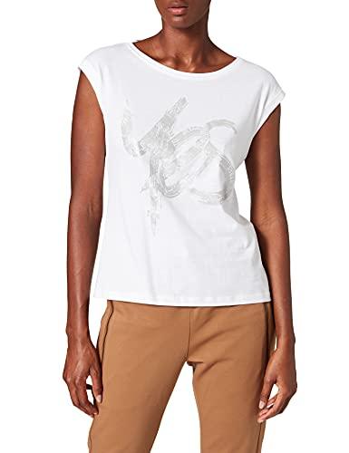 Street One Damen 316642 T-Shirt, White, 42
