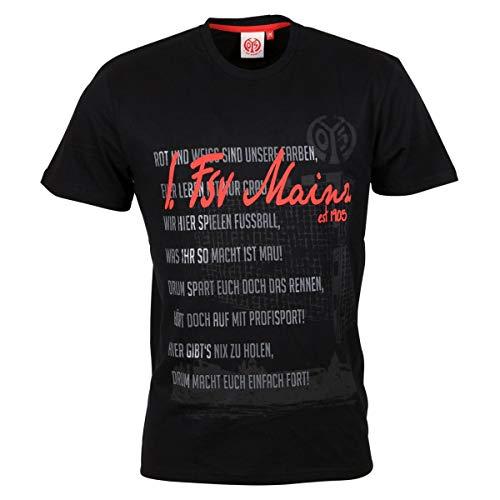 FSV Mainz 05 T-Shirt Liedtext (XL)