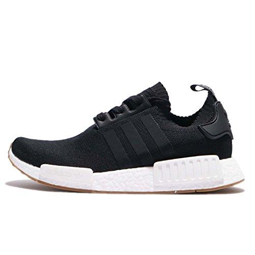 adidas Herren NMD_R1 Primeknit Sneaker, Schwarz (Black By1887), 40 2/3 EU