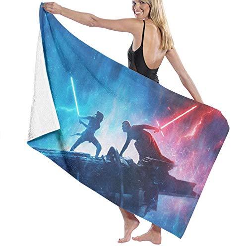Star Wars Toalla de playa ultra absorbente de microfibra toalla de baño para hombres mujeres niños