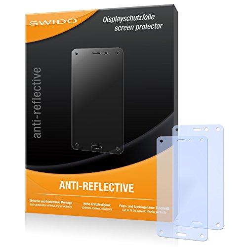 SWIDO Bildschirmschutz für Amazon Fire Phone [4 Stück] Anti-Reflex MATT Entspiegelnd, Hoher Festigkeitgrad, Schutz vor Kratzer/Glasfolie, Schutzfolie, Bildschirmschutzfolie, Panzerglas Folie