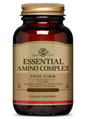 Solgar – Essential Amino Complex, 90 Vegetable...