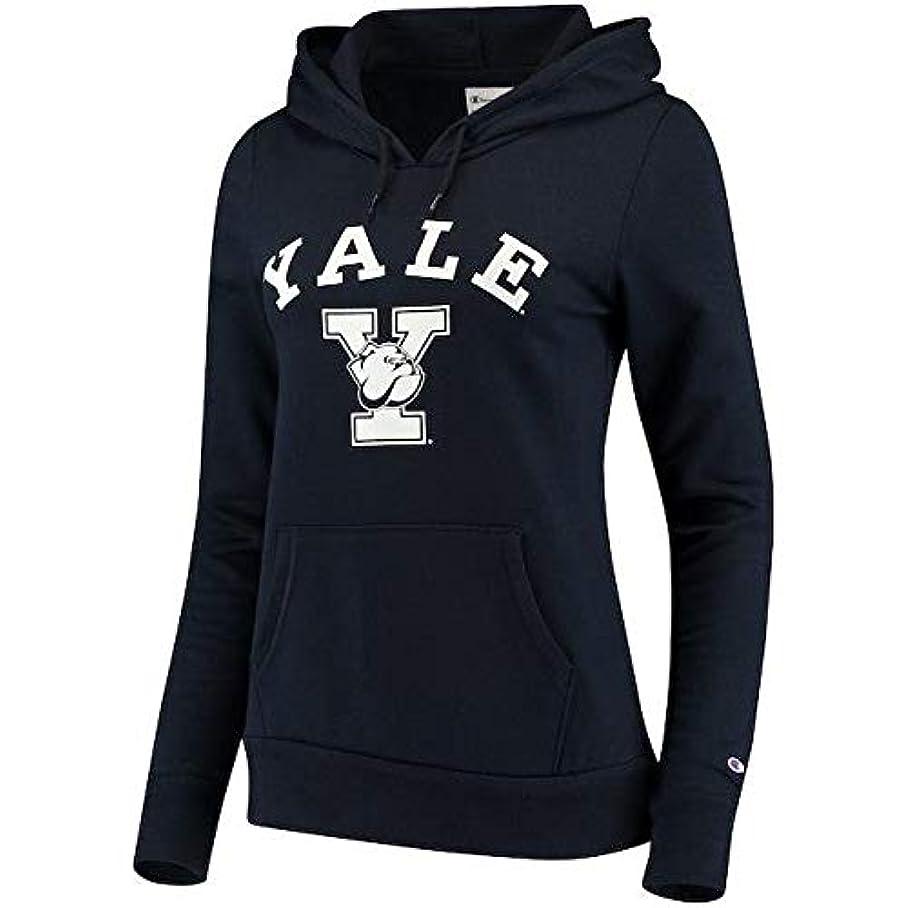 ドックくつろぐ取得するChampion Champion Yale Bulldogs Navy Arch Logo Pullover Hoodie スポーツ用品 【並行輸入品】
