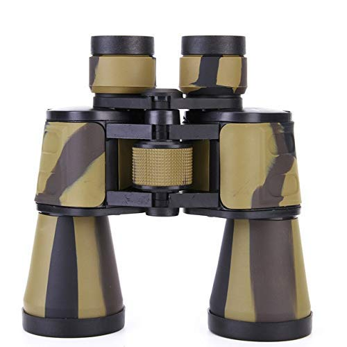 Telescopen high power nachtzicht verrekijker 20x50 zoom optische kijker for birdwatch sniper jacht spotting scope (Kleur: Bruin) ZHW345 (Color : Yellow)