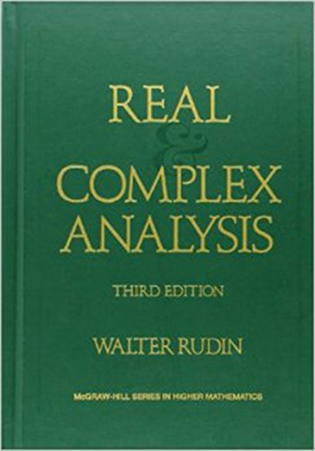 Compare Textbook Prices for Real and Complex Analysis Higher Mathematics Series 3 Edition ISBN 8580000220841 by Rudin, Walter