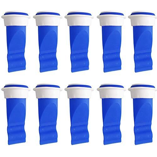 CYSJ 20 Piezas Unidades de válvula de desagüe Anillo Silicona Desodorante Tapón Sellado,para Tubos en Inodoro y baño con Sellado antiolor y Insectos