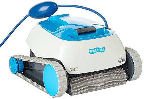 Robô Rb2 Sodramar Para Limpeza De Piscinas Até 12m Sodramar - A Piscina Dos Seu Sonhos Robô Rb2 Sodramar Para Limpeza De Piscinas Até 12m