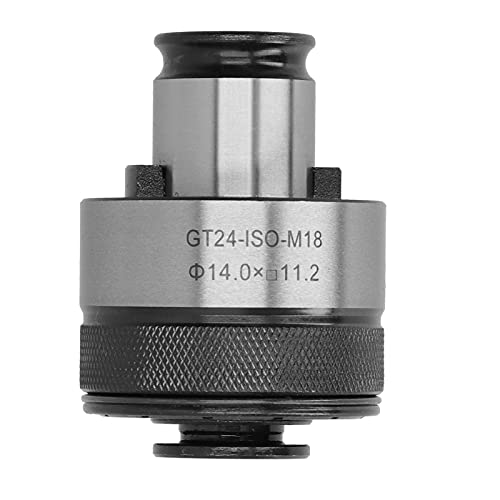 GT24-ISO-M18 Portaherramientas de boquilla roscadora Protección contra sobrecarga Portaherramientas CNC de cambio rápido de torsión ajustable
