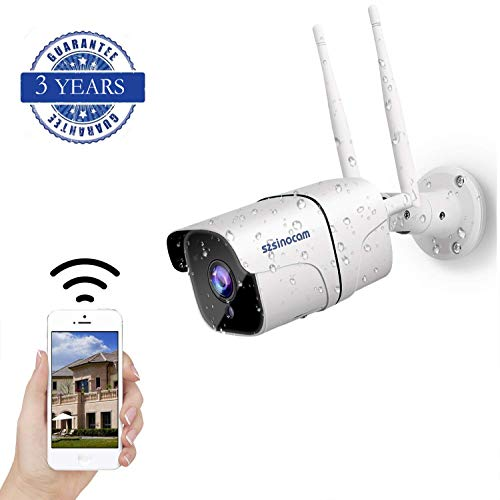 Bewakingscamera, wifi, buiten, Full HD 1080p, IP-camera, wifi, draadloos, beveiligingscamera IP66, bewegingsdetectie, externe toegang tot de app, 2-weg audio, SD- en cloudopslag.
