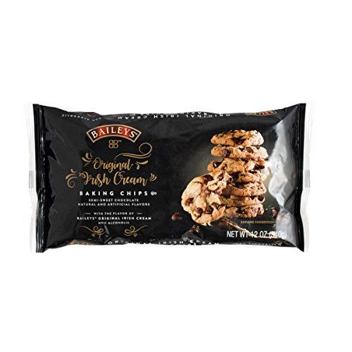 BAILEYS Original Irish Cream Baking Chips, Semi Sweet Chocolate, 12 Ounce