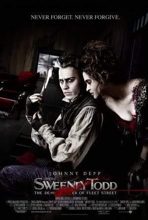 Sweeney Todd - Johnny Depp – Film Poster Plakat Drucken Bild – 43.2 x 60.7cm Größe Grösse Filmplakat Helena Bonham Carter