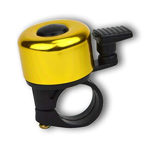 Kiddimoto Mini campanas-amarillo