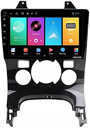 Per Peugeot 3008 5008 2008-2016 Android 10.0 Autoradio GPS GPS 9 pollici Touch Screen Full Bluetooth FM Ricevitore Mobile Specchio del telefono cellulare Dual Link USB fotocamera posteriore