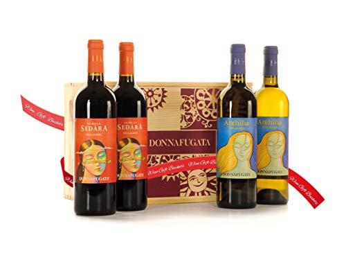 Regalo Cassetta Vini Anthilia e Sedàra Donnafugata – Regalo Vini Pregiati dalla Sicilia - Cod. V259
