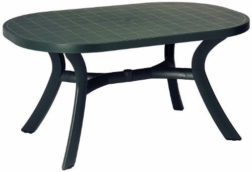 BEST 18511550 Tisch Kansas oval 145 x 95 cm, anthrazit