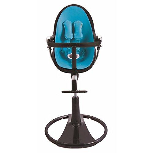 Amazing Deal bloom Black Fresco Chrome High Chair in Bermuda Blue