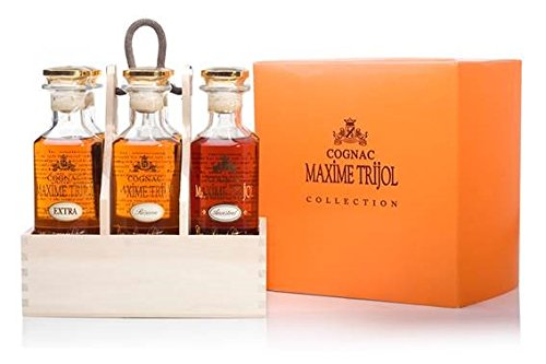 COGNAC MAXIME TRIJOL GRANDE CHAMPAGNE - GIFT PACK 6 x 20cl