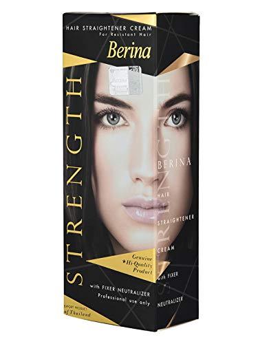 Berina Hair Straightener Cream, 60gm