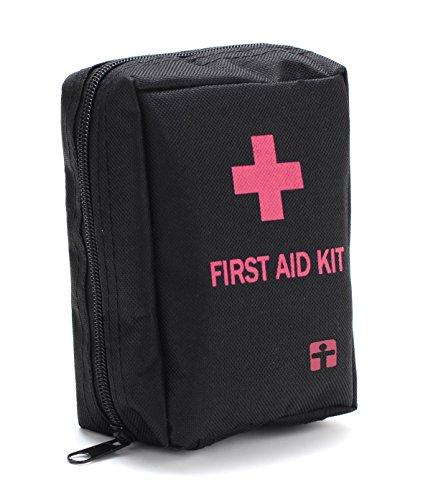 YUUVE Botiquín de Primeros Auxilios Kit de Supervivencia Súper Compacto y Profesional para Hogar, Trabajo, Oficina, Deportes, Senderismo, Emergencias, Viajes, Camping y Actividades Deportivas