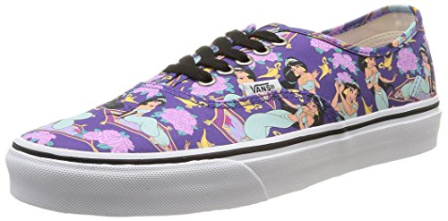 Vans U Authentic Disney, Unisex-Erwachsene Sneakers, Mehrfarbig (disney/jasmine/deep Ultramarine),, 41