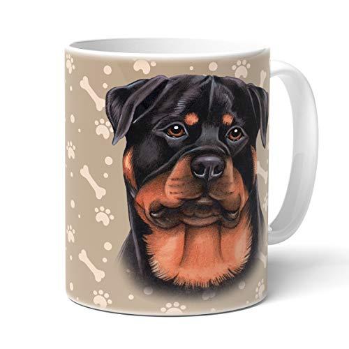 ROTTWEILER Tasse mit Spruch, Tasse Hund, Frauchen, Animal Crossing-Becher – Für Dich/Lustige Texte/Tasse Weihnachten / Kaffeetasse Groß Rottweiler