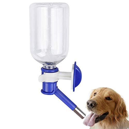 Botella de Agua para Perros Bebedero Conejo Perro Accesorios de Viaje Botella de Bebida para Perros a Prueba de Fugas Perro Botella 500ml