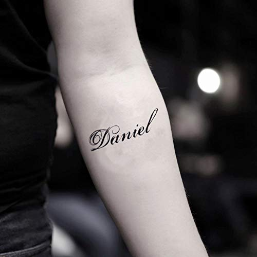 Tatuaje Temporal de Daniel (2 Piezas) - www.ohmytat.com