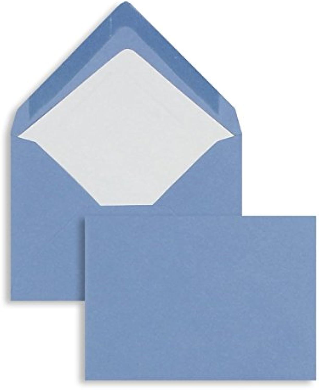 Farbige Briefhüllen   Premium   81 x 114 mm (DIN C7) Blau (100 Stück) Nassklebung   Briefhüllen, KuGrüns, CouGrüns, Umschläge mit 2 Jahren Zufriedenheitsgarantie B00FPNYC92 | Mittel Preis