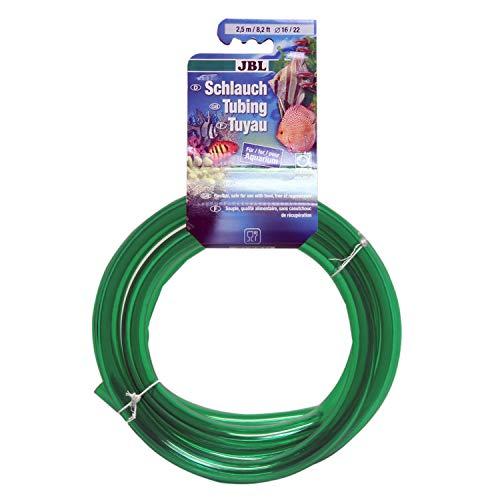 JBL Tube 2.5 m length, 16/22 mm diameter, green , Water hose for aquariums