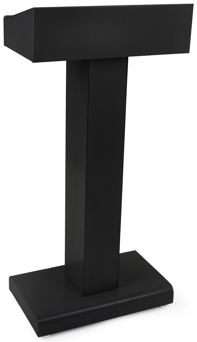 Displays2go Podium Rectangular Storage Powder