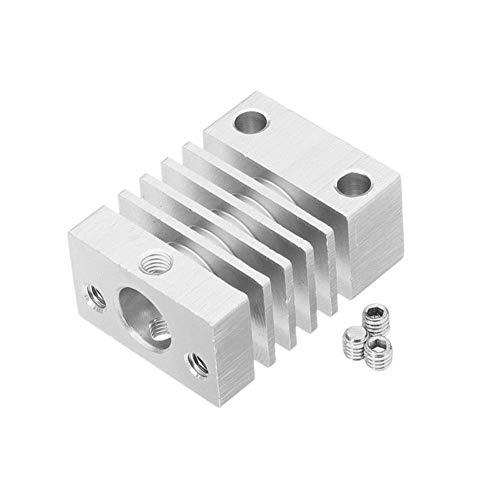 BXU-BG 3D-Drucker-Zubehör, Aluminium 27x20x12mm Heatsink Kühler for 3D-Drucker Drucker