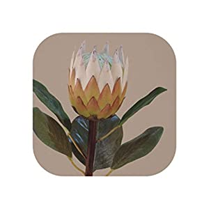 Vicky Large Artificial Protea Silk Flowers Fake Plastic Plants with Green Leaves Wedding Home Decoration 964Cm,A039R02