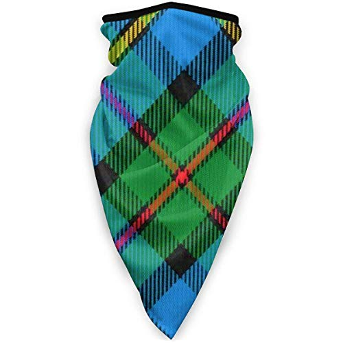 July Schottenmasker, stijl Clan Macleod of Harris, Schotse ruiten, zonder lasnaden, Amerikaanse stijl, winddicht