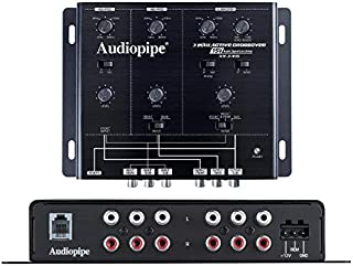 Audiopipe 6 Way Crossover 8 Ch. Input 12 Ch. Output