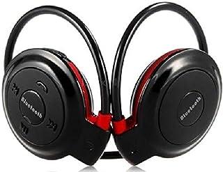 Fone Phone Cor Vermelho Ouvido Wifi Wireless Bluetooth Chamadas Sem Fio Sport Mp3 Fm Sd Corridas Caminhada Esporte Mini-50...